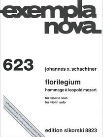Johannes X. Schachtner: Florilegium