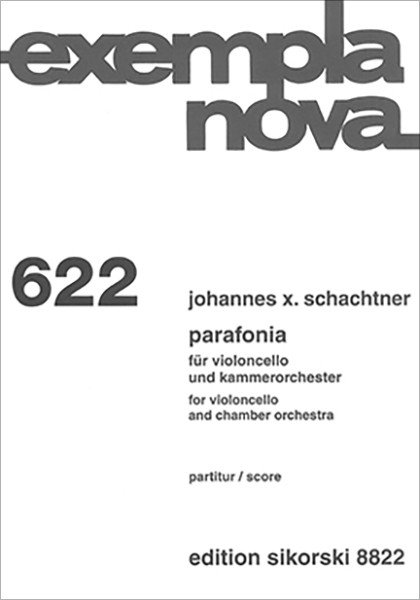Johannes X. Schachtner: Parafonia
