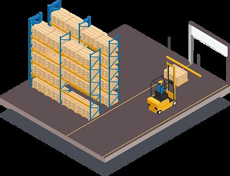 protection of warehouse door