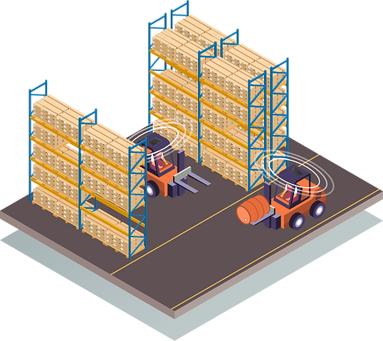 forklift anti-collision system