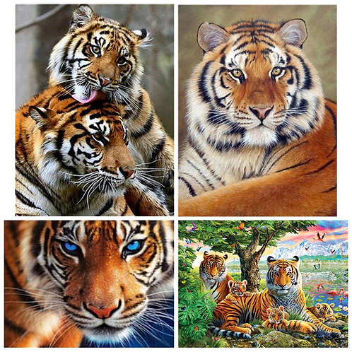 Tiger Diamond Painting  Full Square