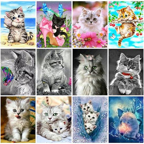 Diamond Painting Full Square Cat