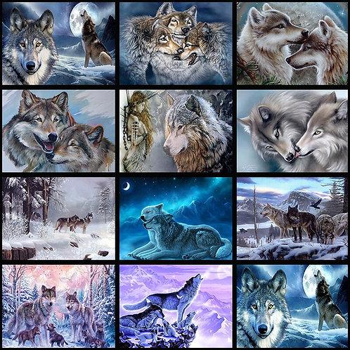Diamond painting  Wolf Full