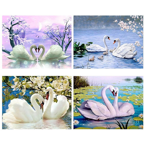 Diamond Painting Swans Full Square