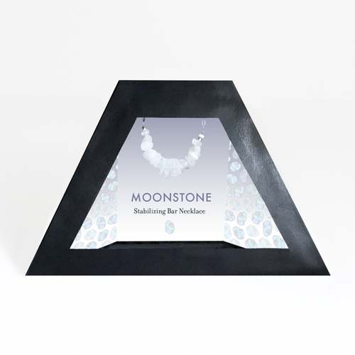 Removable Moonstone Necklace Display Insert