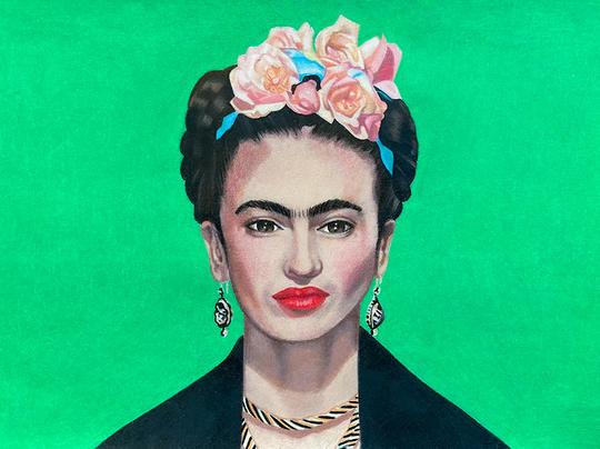 A Vibrant Frida Kahlo