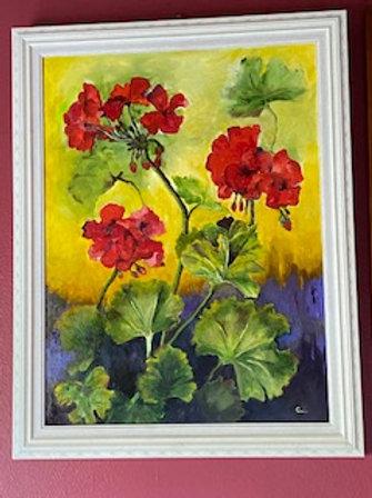 """""""Spring Geraniums"""""""