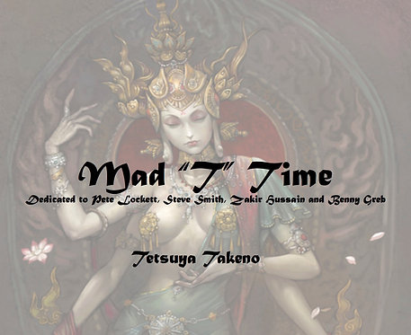 "Mad ""T"" Time for snare drum solo with electronics - DIGITAL COPY"