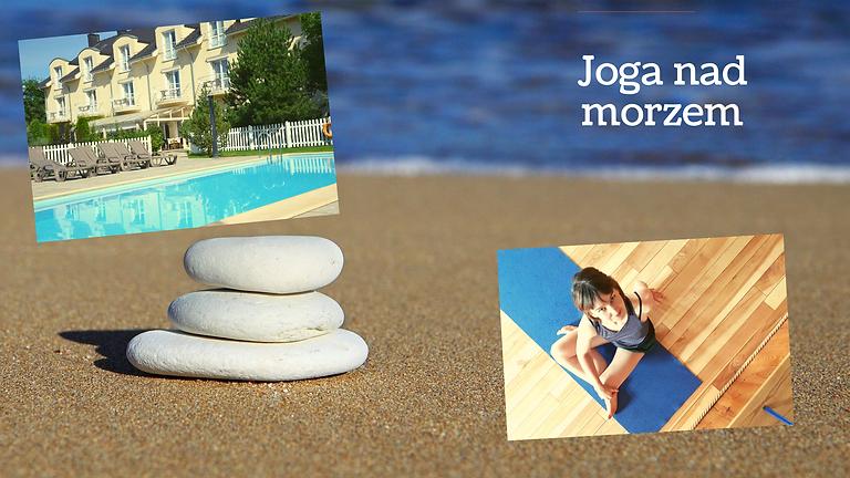 Joga i plaża ;-) - wrzesień w Ustroniu Morskim - po sezonie!