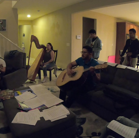 Rehearsing El Coco