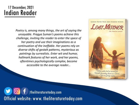 Review of Lost Mother in Literature Today