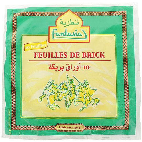 Feuille de brick (lot de 10 feuilles)
