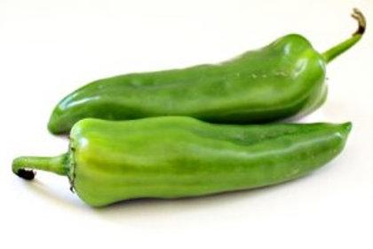 Poivrons cornes vert (4 pièces gros calibre)