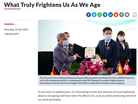 What Truly Frightens Us As We Age