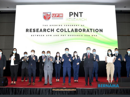 BERNAMA - UPM, PNT Research ink collaboration to formulate micro-algae based antioxidant