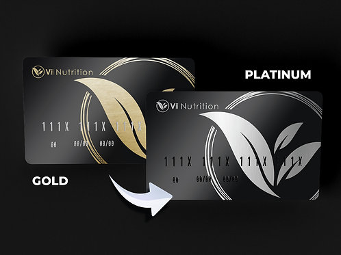 Gold to Platinum Upgrade Package