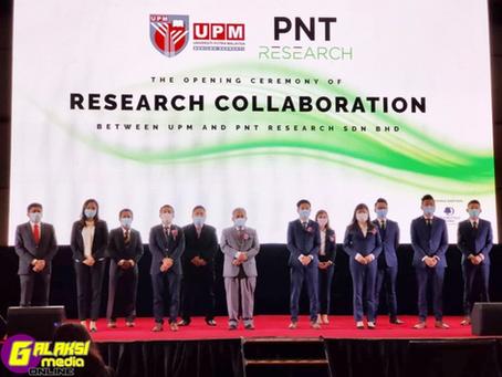 Galaksi Media-Universiti Putra Malaysia bekerjasama  dengan PNT Research