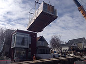 Countryside Cranbrook BC crane modular home moving