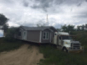 Countryside Transport cranbrook bc moving 16 wide mobile home