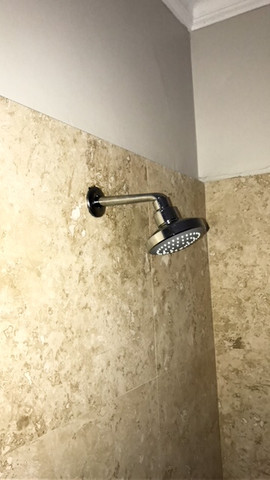 Shower Head Installed by AD Plumbing Cape Town