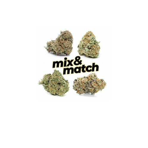 1/2 Ounce Mix & Match any 2 strains on our menu