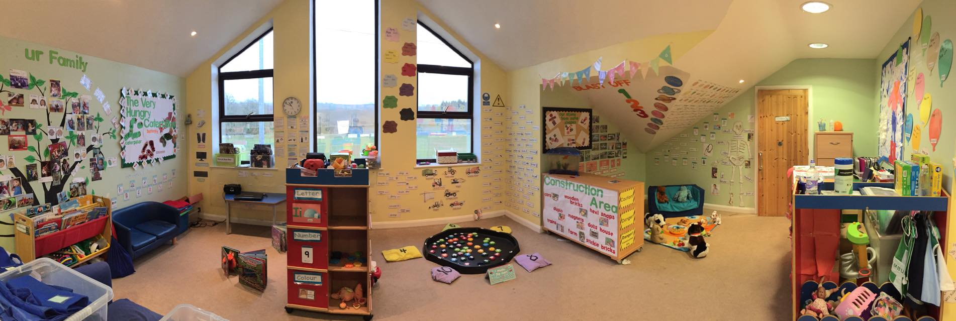 Happy Feet Pre School Room