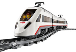 LEGO City Trains High-speed Passenger Train 60051 Building Toy 4