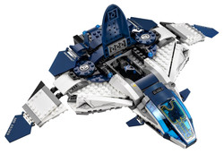 LEGO Superheroes The Quinjet City Chase 5