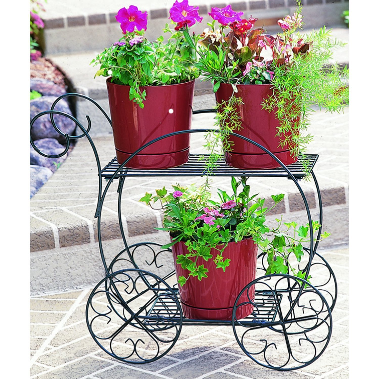 CobraCo Two Tiered Garden Cart FC100 2