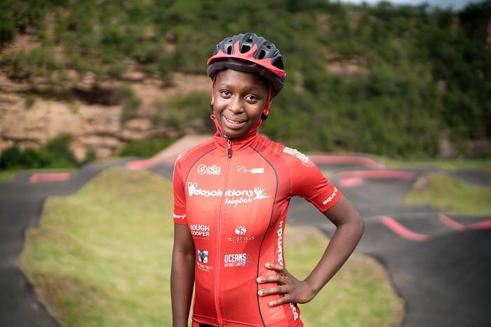 Amahle Cane, cyclist