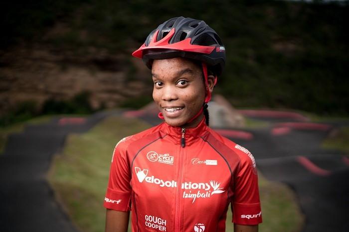 Nomfundo Mtshali, cyclist