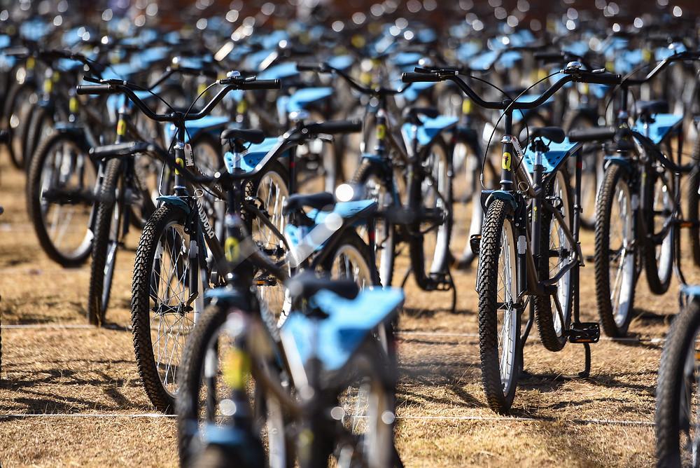 Volkswagen South Africa distributed 1 000 Qhubeka bicycles in KwaZulu-Natal