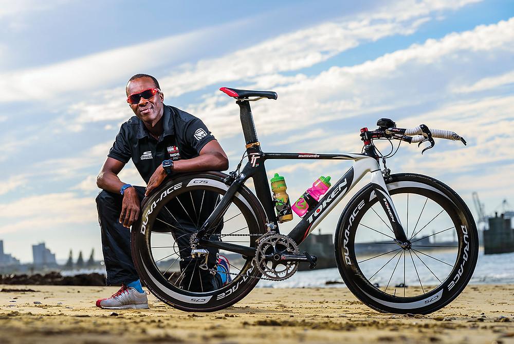 Jabu Mpengesi, triathlete
