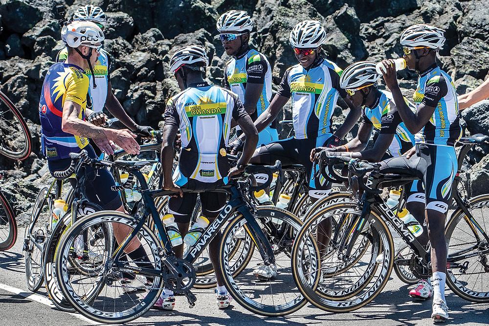 Team Rwanda riders