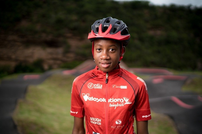 Aphiwe Goge, cyclist