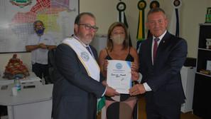 Vereador João Paulo Dumoncel assumiu o Executivo santa-barbarense como prefeito interino