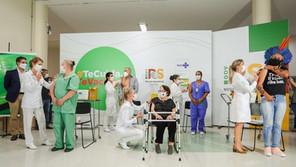 Iniciou vacinação contra Covid-19 no Rio Grande do Sul