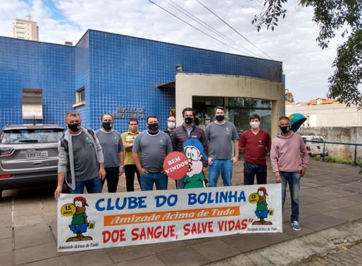 Clube do Bolinha realizou coleta de sangue pelo 15º ano consecutivo