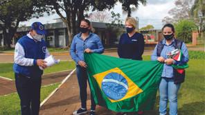 Fogo Simbólico da Pátria chegou em Santa Bárbara do Sul