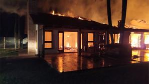 Sinistros causaram prejuízos em Santa Bárbara do Sul