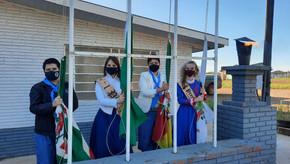 CTG Velha Carreta de Santa Bárbara realizou churrasco de encerramento da Semana Farroupilha