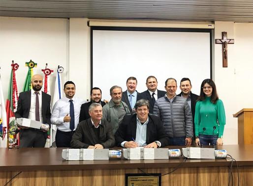 Santa Bárbara e Saldanha Marinho fazem parte dos  beneficiados com a modernização da iluminação
