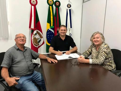 Saldanha Marinho firmou Termo de Fomento com o CTG Porteira Velha