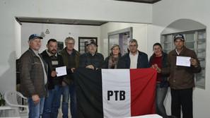 PTB de  Santa Bárbara  apresenta nova  diretoria
