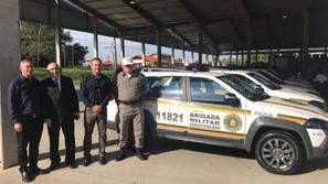 Santa Bárbara do Sul  recebeu viatura para BM