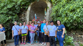 8ª Caminhada de Nossa Senhora de Lourdes em Saldanha Marinho