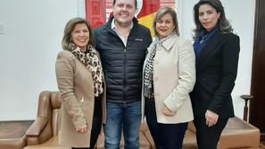 Equipe do Executivo de Santa Bárbara cumpriu  agenda em Porto Alegre
