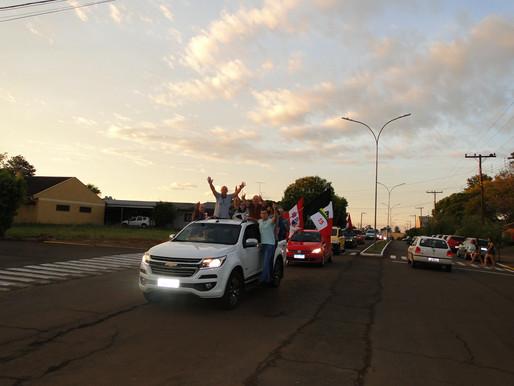 Bobi foi eleito prefeito pela primeira vez em Saldanha Marinho