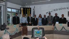 Empossados vereadores e prefeito interino de Santa Bárbara do Sul