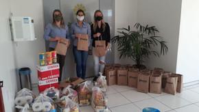 APAE de Santa Bárbara recebeu doações